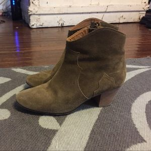 Isabel marant brown DICKER boot